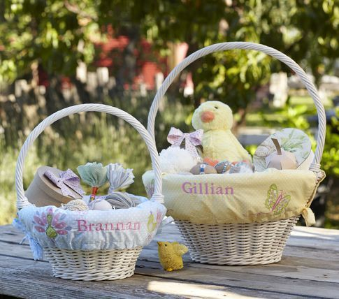 I thinking about getting a new liner for gabbys easter basket both kids baby furniture kids bedding gifts baby registry personalized easter negle Images