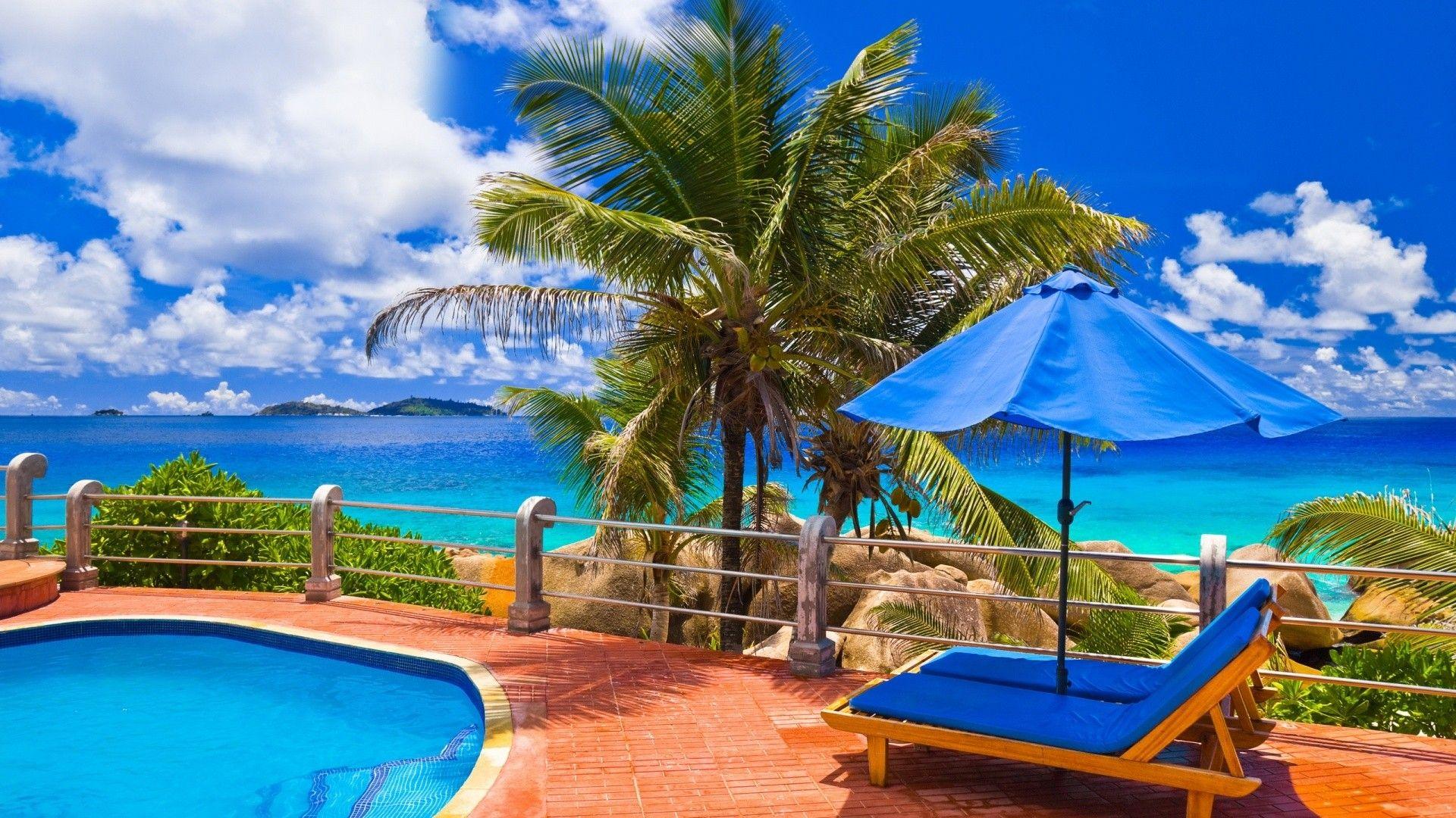 Download Beautiful Beach Hd Wallpaper Beach Wallpaper Summer