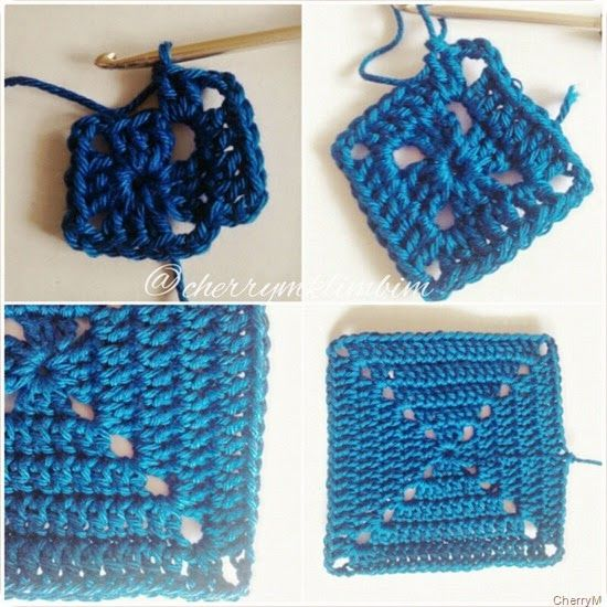 crochet granny square instructions