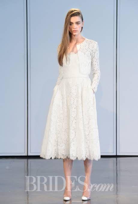 Houghton Wedding Dresses - Spring 2015 - Bridal Runway Shows - Brides.com : Brides.com