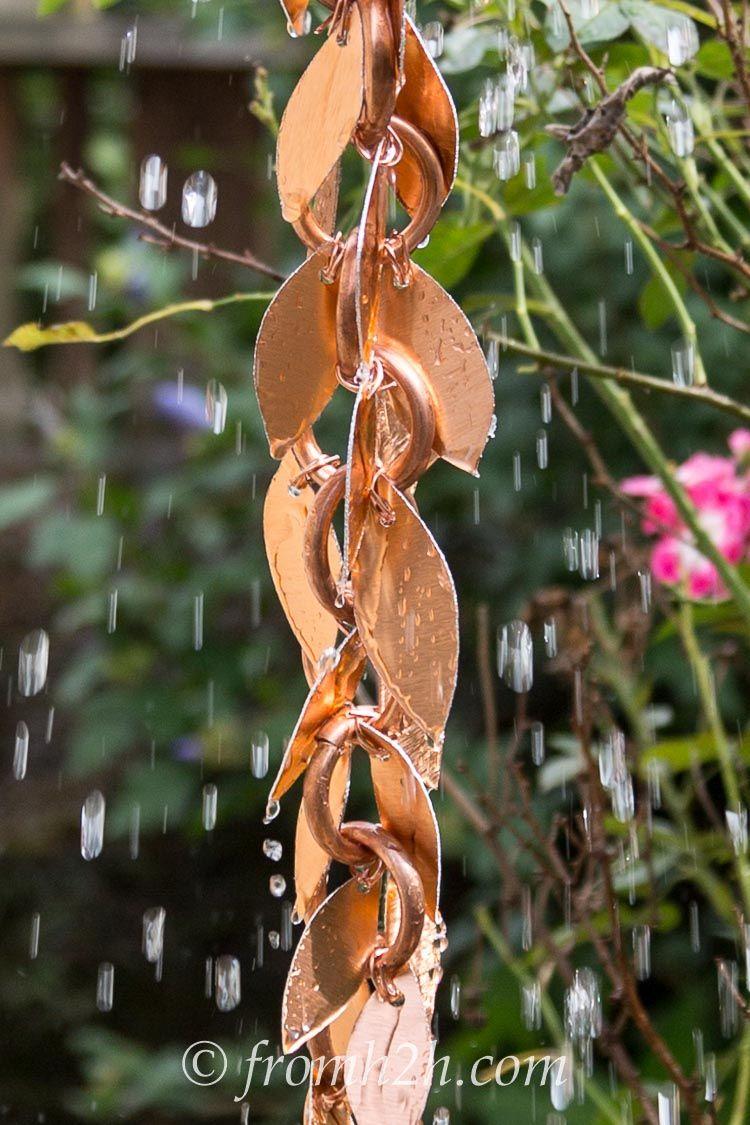 DIY Rain Chain 2 ways Want