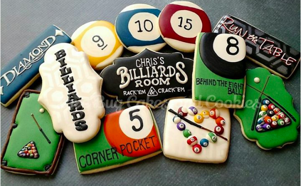 Inspiration For A Billiard Theme Party Bug Cake Cookies Sugar