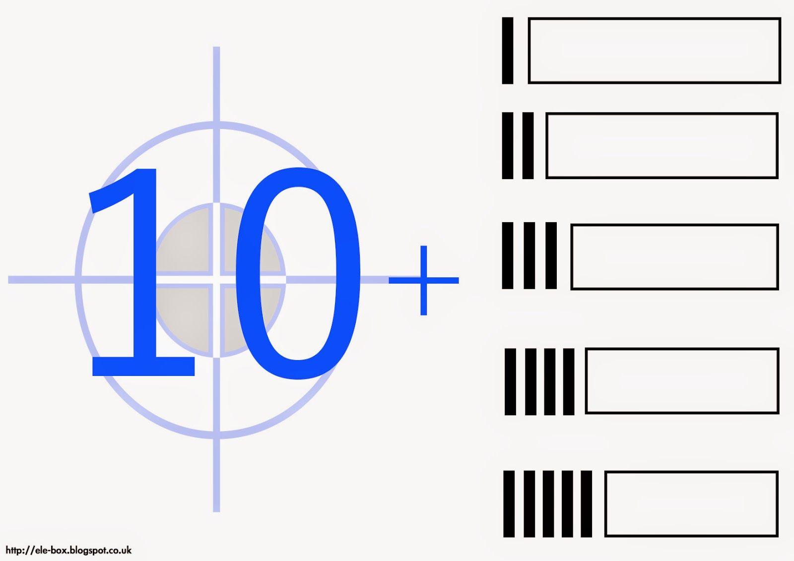 Los Numeros Del 10 Al 19 Decenas Y Unidades Numeros Del 10 Al 19 Educacion Inicial