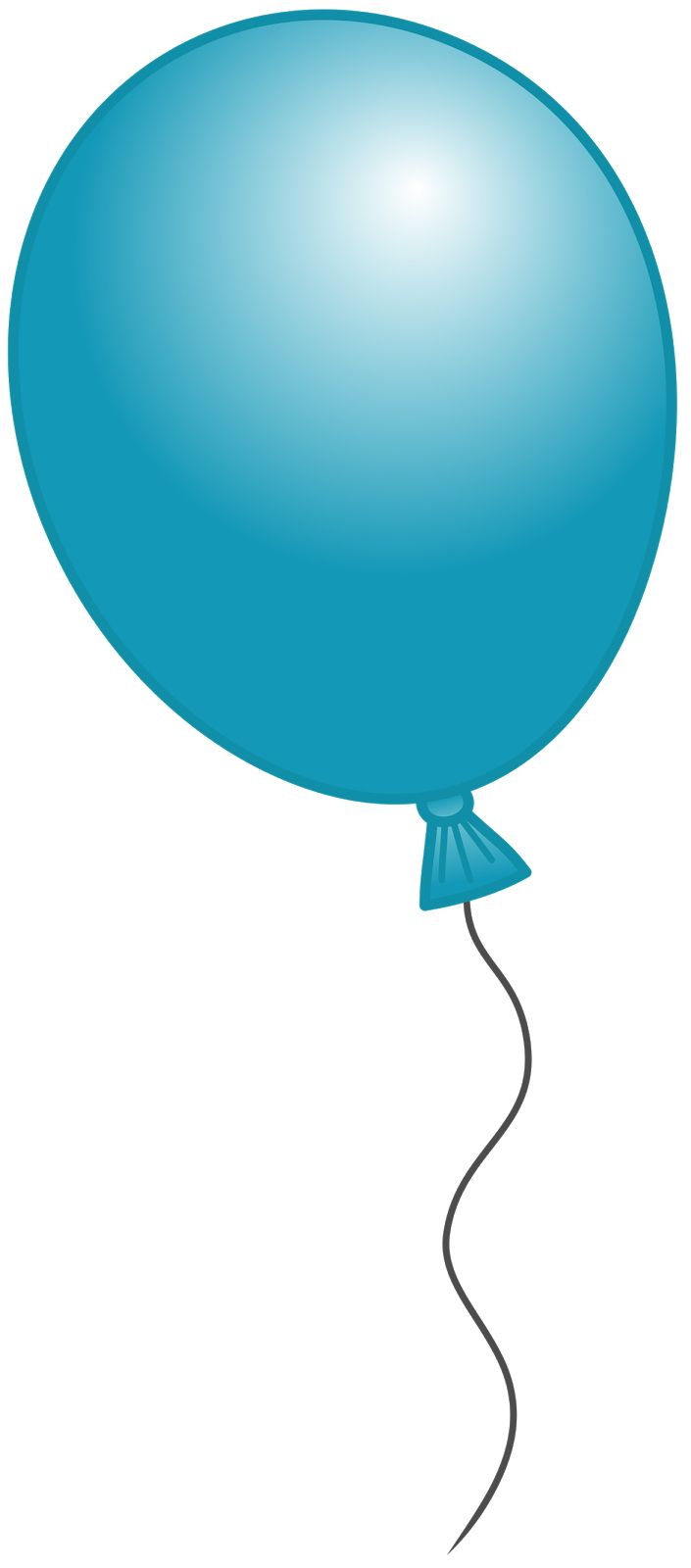 Green and blue balloons - Balloons