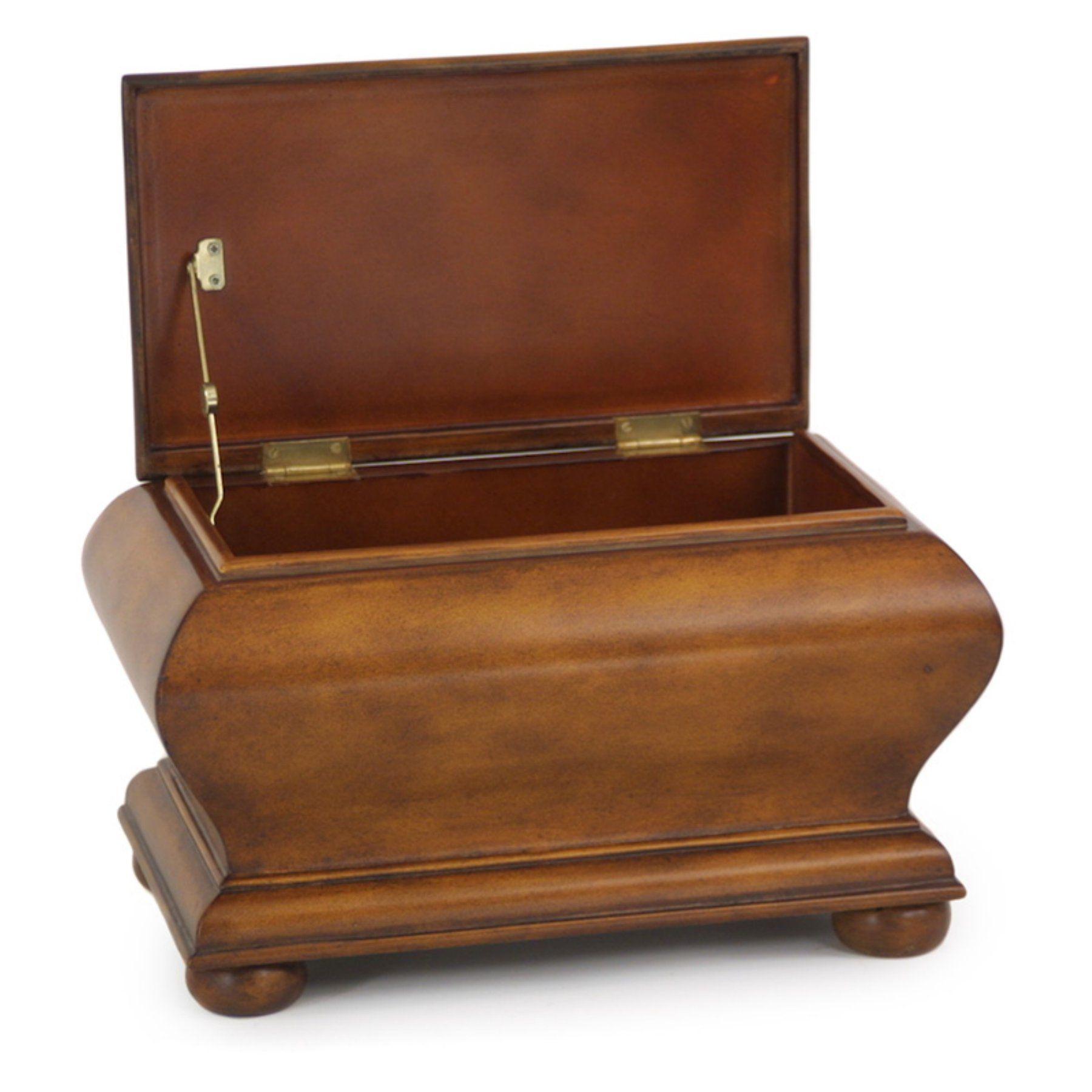distinctive designs furniture. Distinctive Designs Faux Leather Bombe Decorative Box - DB-500 Furniture S