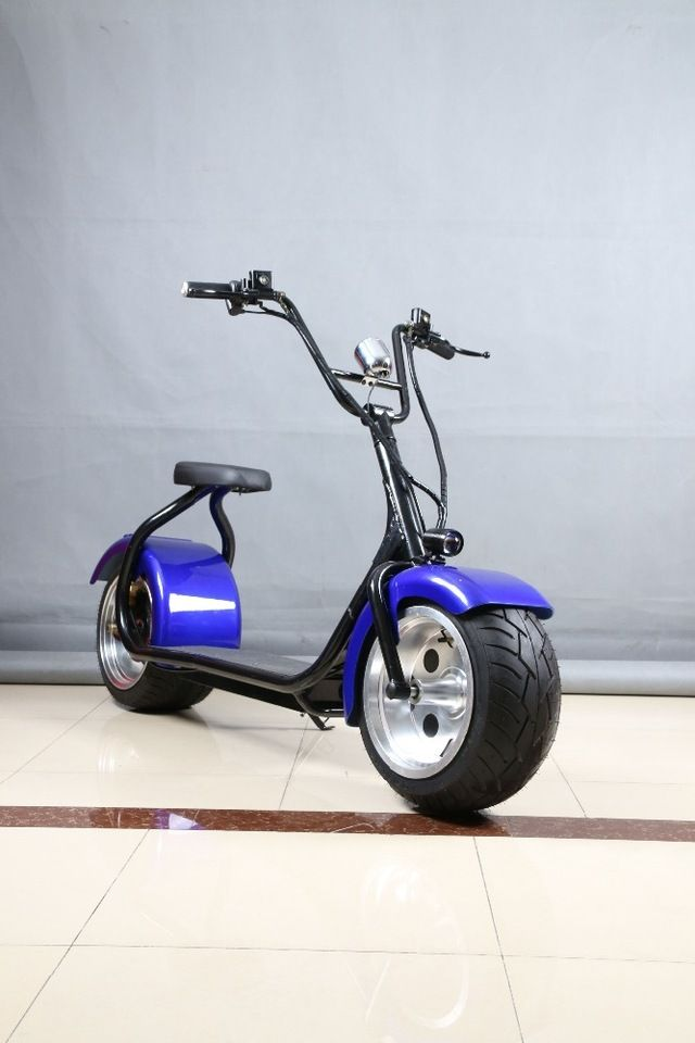 2017 Best Price Scrooser 60v 20ah Harley Electric Scooter 1000w