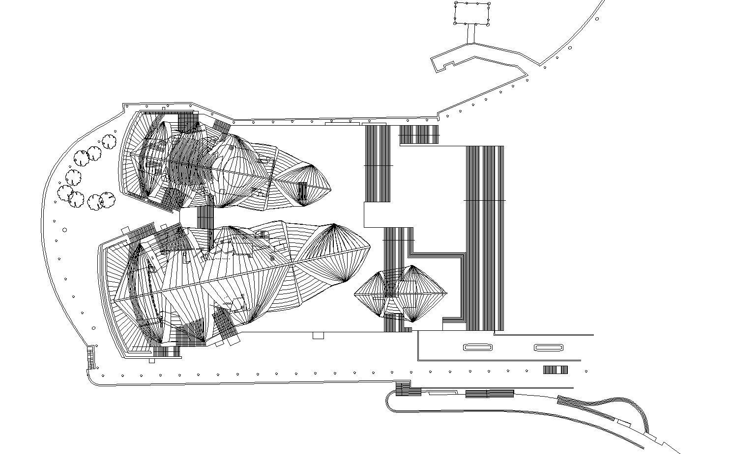 Sydney Opera House Cad Design