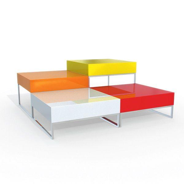 Fancy coffee table 3d model