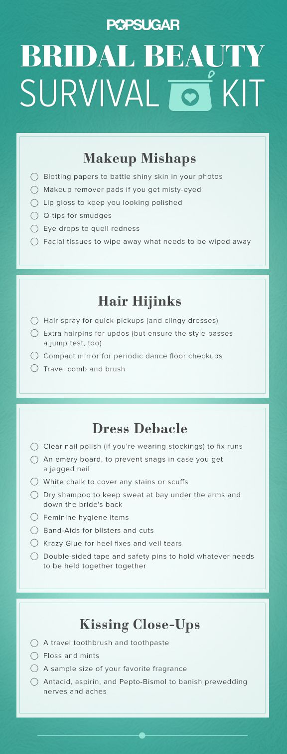 Found Your Bridal Beauty Survival Kit Pin Now And Use It To Pack