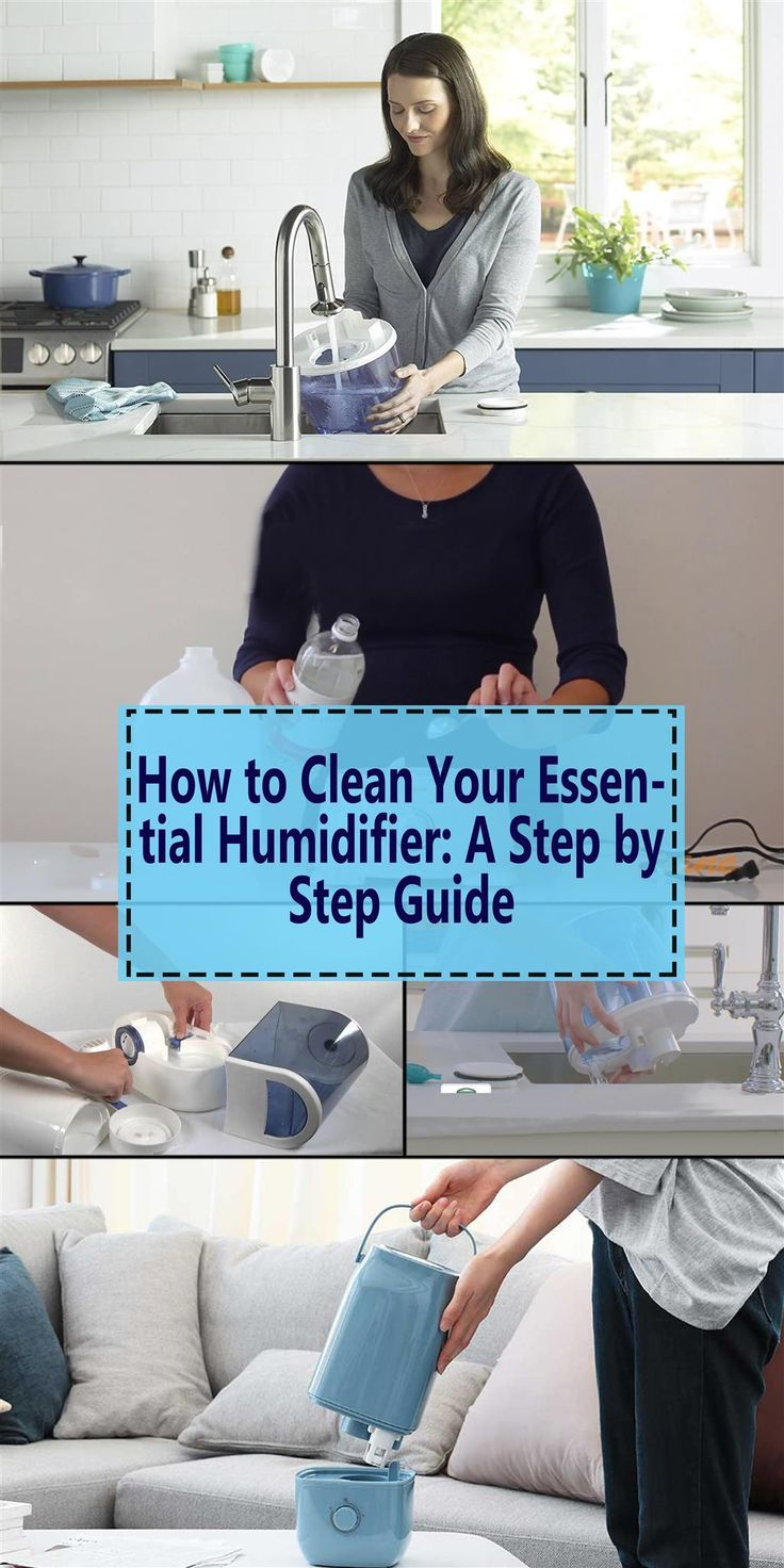 3 Easy & Simple Steps on How to Clean Your Humidifier
