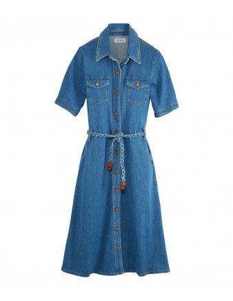 82faf84f8b7 MIH 70 s Denim Dress