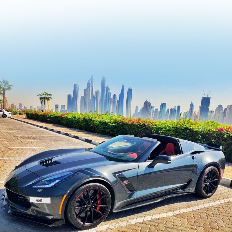 Drive The Chevrolet Corvette In Dubai For Only Aed 900
