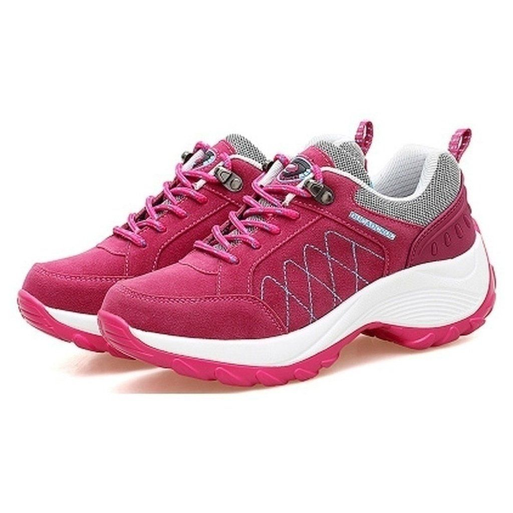 PP FASHION Womens Running Walking Sneakers Outdoor Sport Platform Sneakers Stylish Casual Shoes Wedges