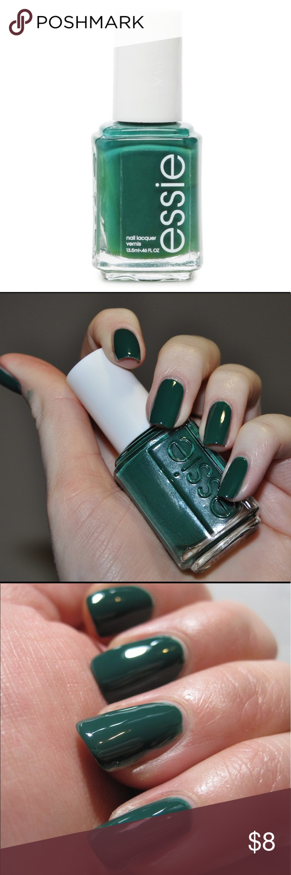 ESSIE Nail Polish Color GOING INCOGNITO. Green NEW NWT | Essie nail ...