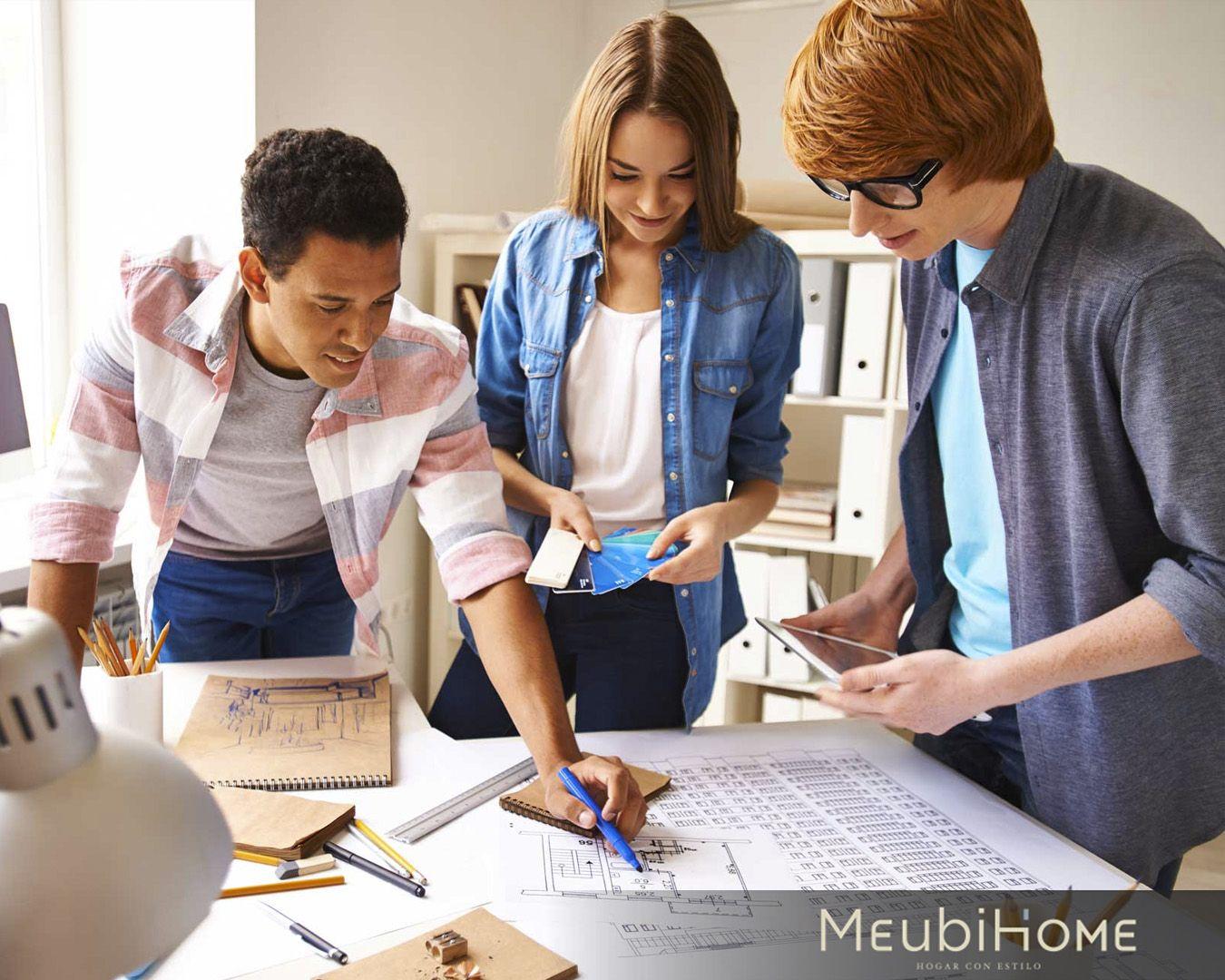 El Trabajo En Equipo Es Fundamental Para Lograr Nuestras Metas En Meubihome Ofrecemos Asesorias Y Alia Trabajo En Equipo Decoracion De Unas Partes De La Misa