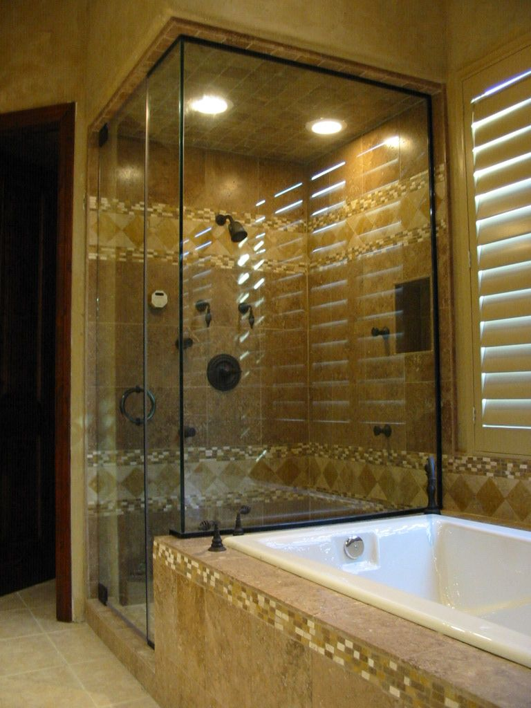 Tilework At Steam Shower Interior Design Work House Design