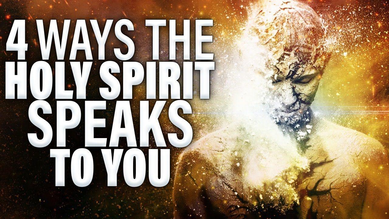 how do the holy spirit speak to us