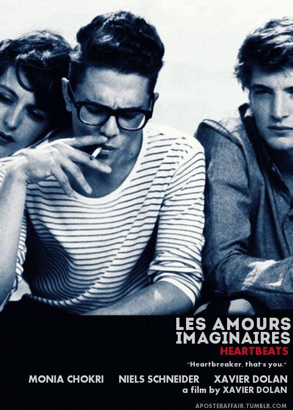 Les Amours Imaginaires (2010)  (Heartbeats)  Director: Xavier Dolan  Xavier Dolan, Monia Chokri and Niels Schneider