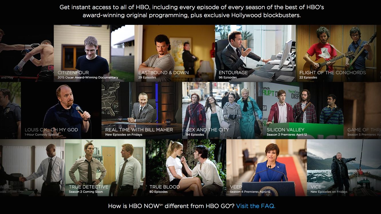 HBO Now everything you need to know about HBO's