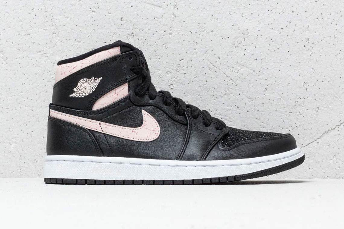 4cdca8845c84 Nike Air Jordan 1 Retro High Premium Black Silt Red