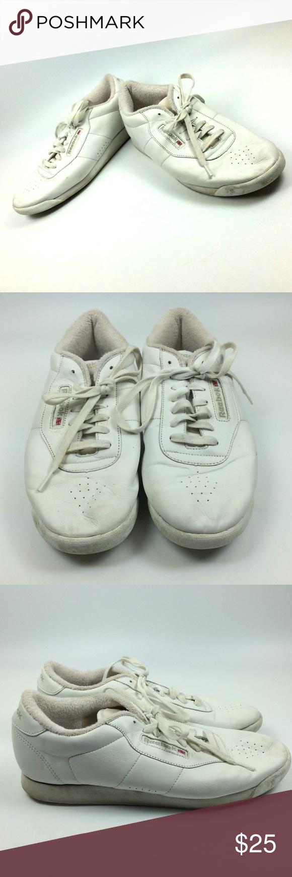 f88c0eb404c Reekbok Classics White Princess Leather Retro OG Reekbok Classics Womens  Size 11 White Princess Leather Walking
