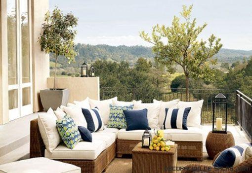 Cuidado de los muebles exteriores terrazas muy lindas - Muebles para terrazas exteriores ...
