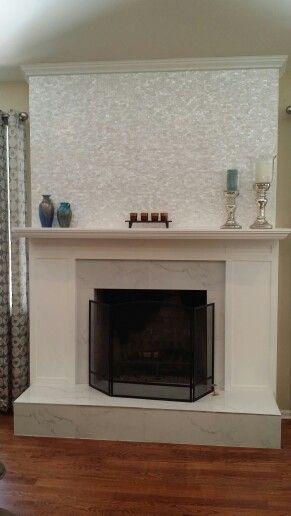 My Own Gorgeous Refaced Fireplace Was Floor To Ceiling