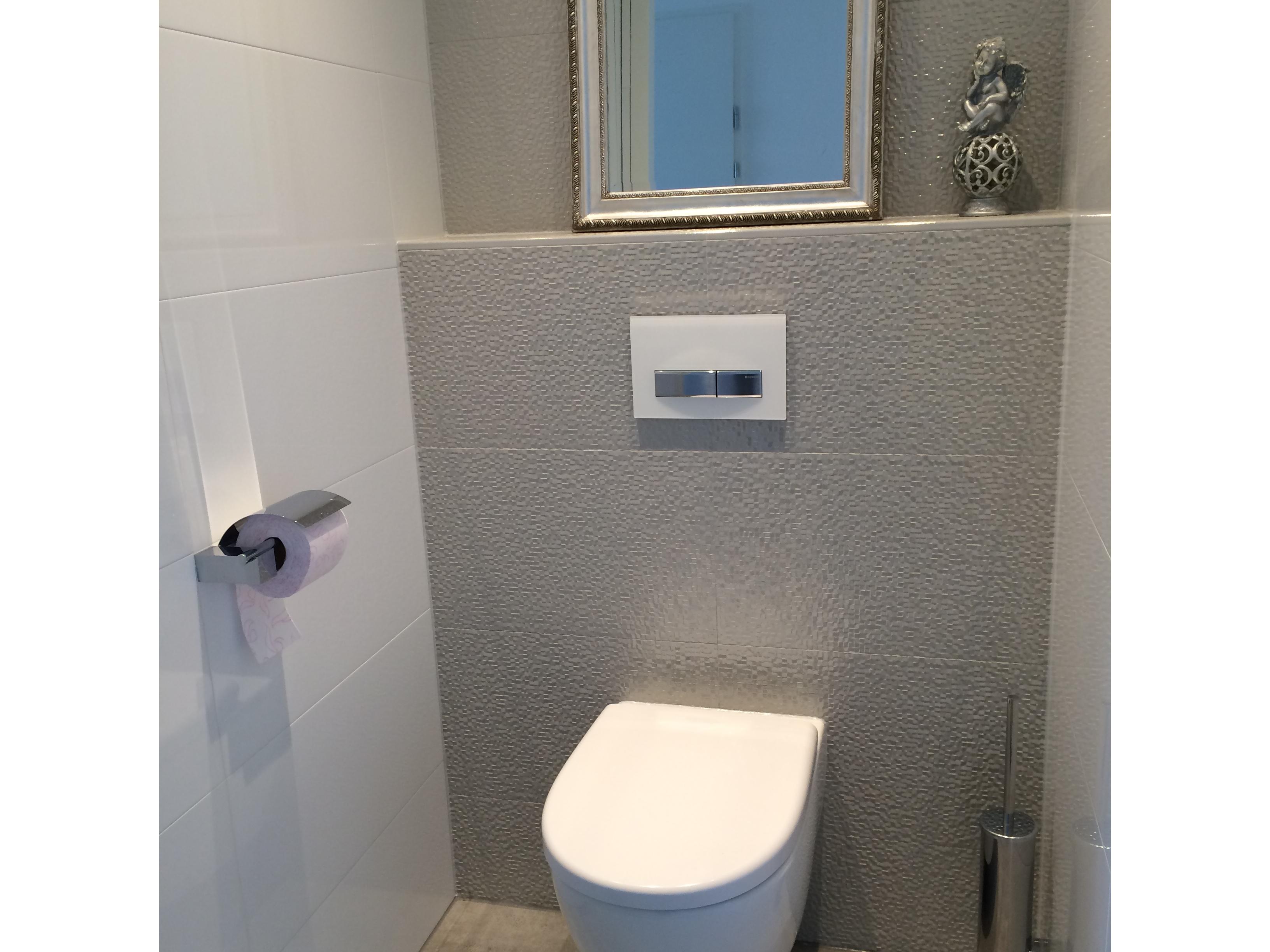 Toilet wandtegels venis cubica gris strata bathroom ideas