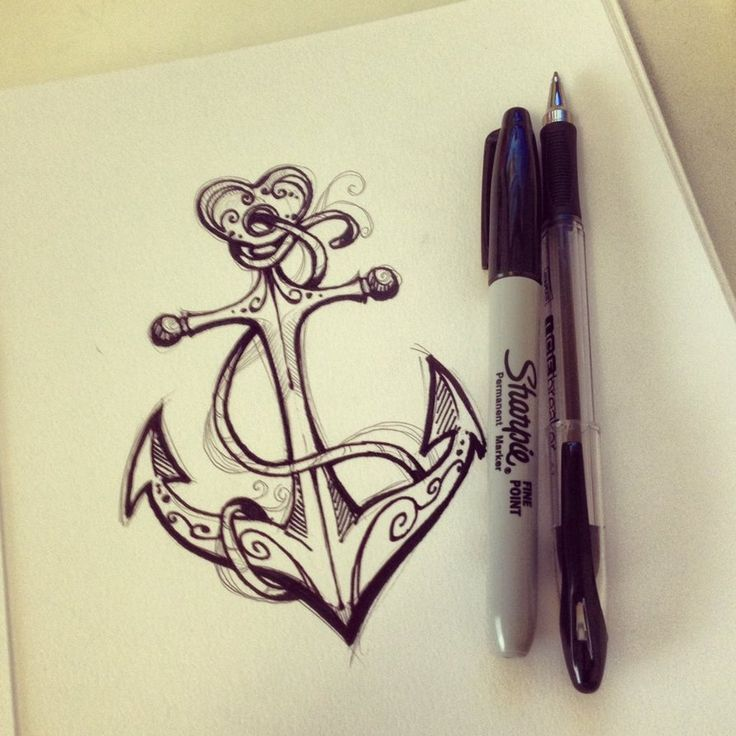 Image result for anchor tattoo female