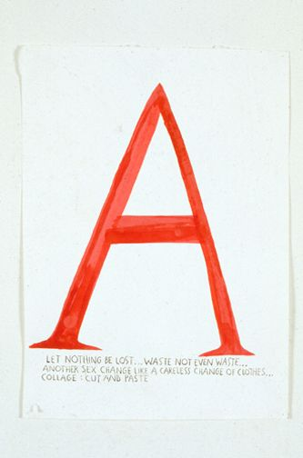 Raymond Pettibon » No Title (Let nothing be...)David Zwirner