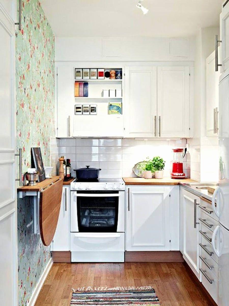 50 Idee Cucine Piccole Soluzioni Per Una Cucina Pratica E Funzionale In Pochi Mq Cucine Piccole Arredo Interni Cucina Interni Della Cucina