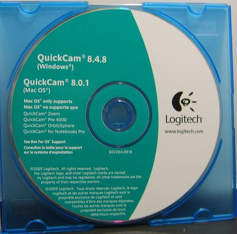 LOGITECH QUICKCAM 8.0 1 DRIVERS FOR WINDOWS XP