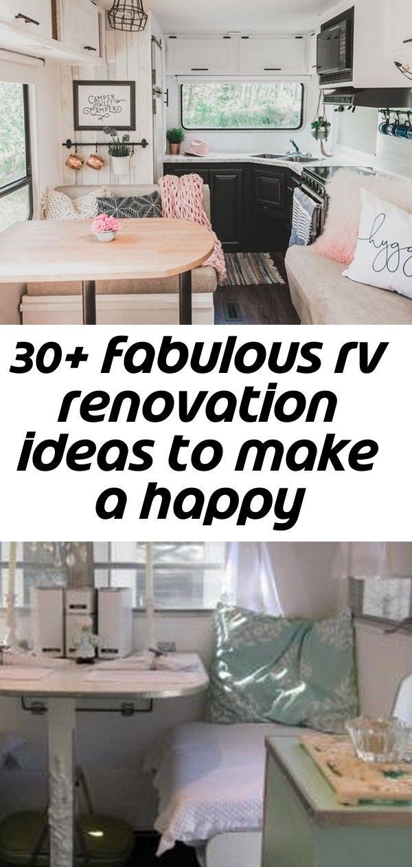 Cool 30+ Fabulous RV Renovation Ideas To Make A Happy Campers 60 Genius Vintage Camper Trailer