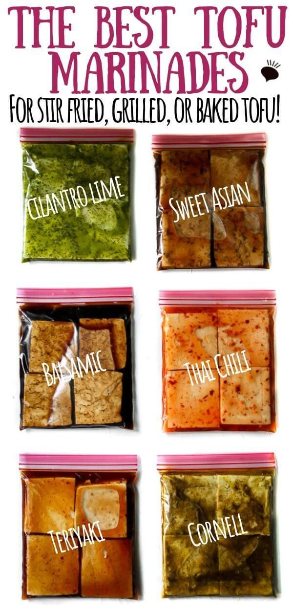 A Complete Guide to Tofu Marinades!