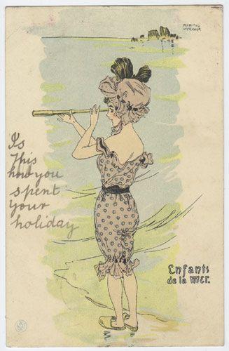 kirchner art nouveau artist | Signed Artist Postcards - Art Nouveau and Art Deco - Meurier Kirchner ...