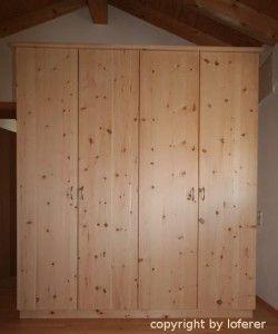 Zirbenschrank Schrank Zirben Zimmer