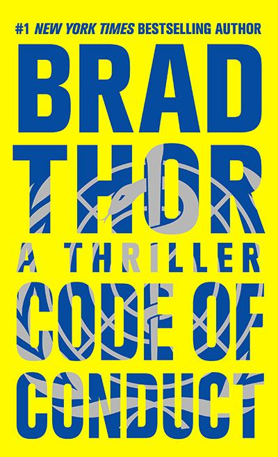 Just starting the new one from Brad Thor this morning- Code of Conduct.