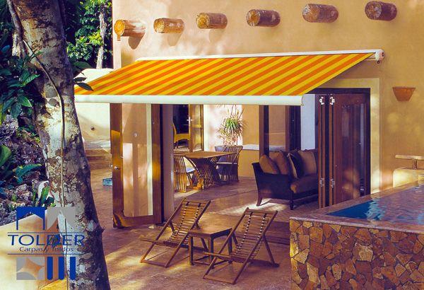 Toldo para terraza 3 Terrazas Pinterest Restaurant design