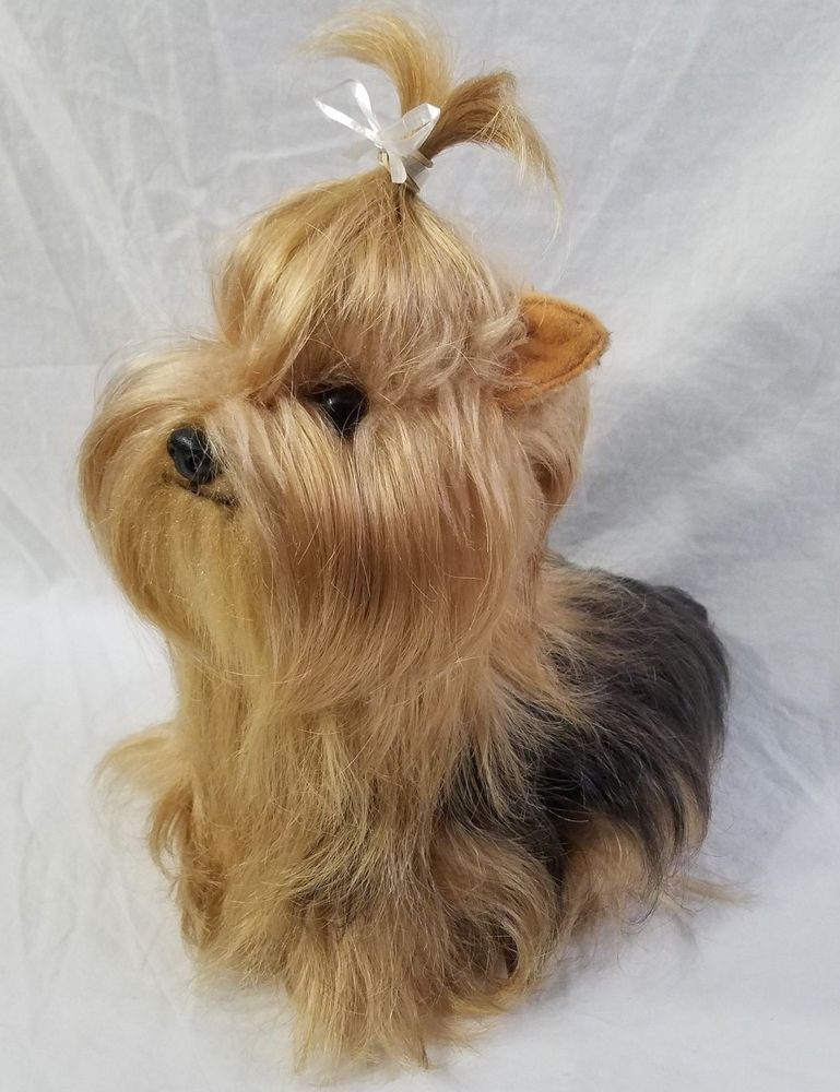 Yorkie Yorkshire Terrier Teacup Dog Stuffed Animal Plush Lively