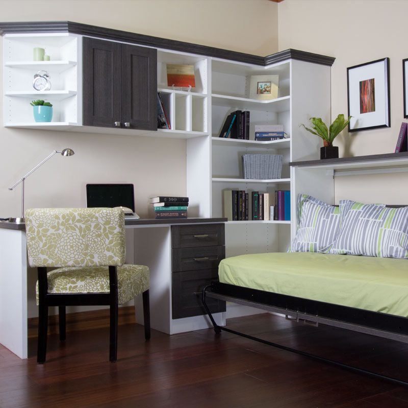 California Closets Murphy Bed Desk The Perfect Balance Of Work And Relaxation