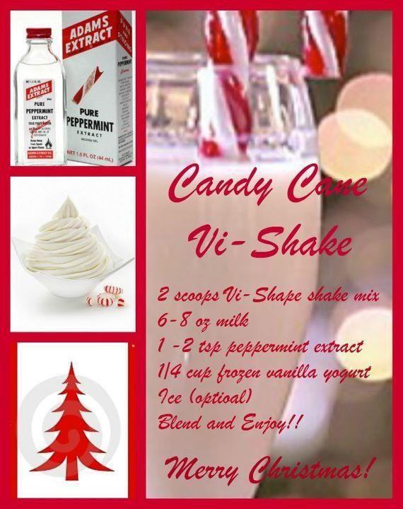 Candy Cane Vi Shake
