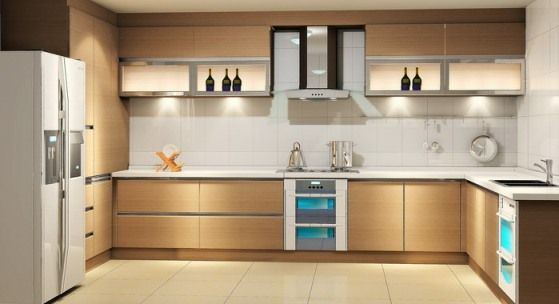 U Shaped Kitchen, U Shaped Kitchen Layout, U Shaped Kitchen Design