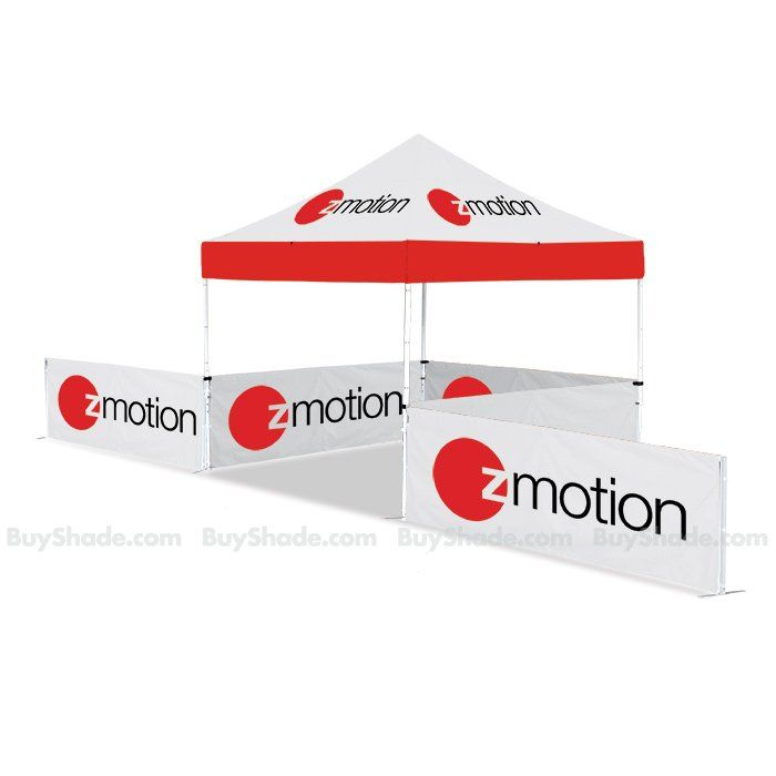 ez up pop up tent with ez up custom freestanding rail skirt banner with zmotion logo  sc 1 st  Pinterest & ez up pop up tent with ez up custom freestanding rail skirt banner ...
