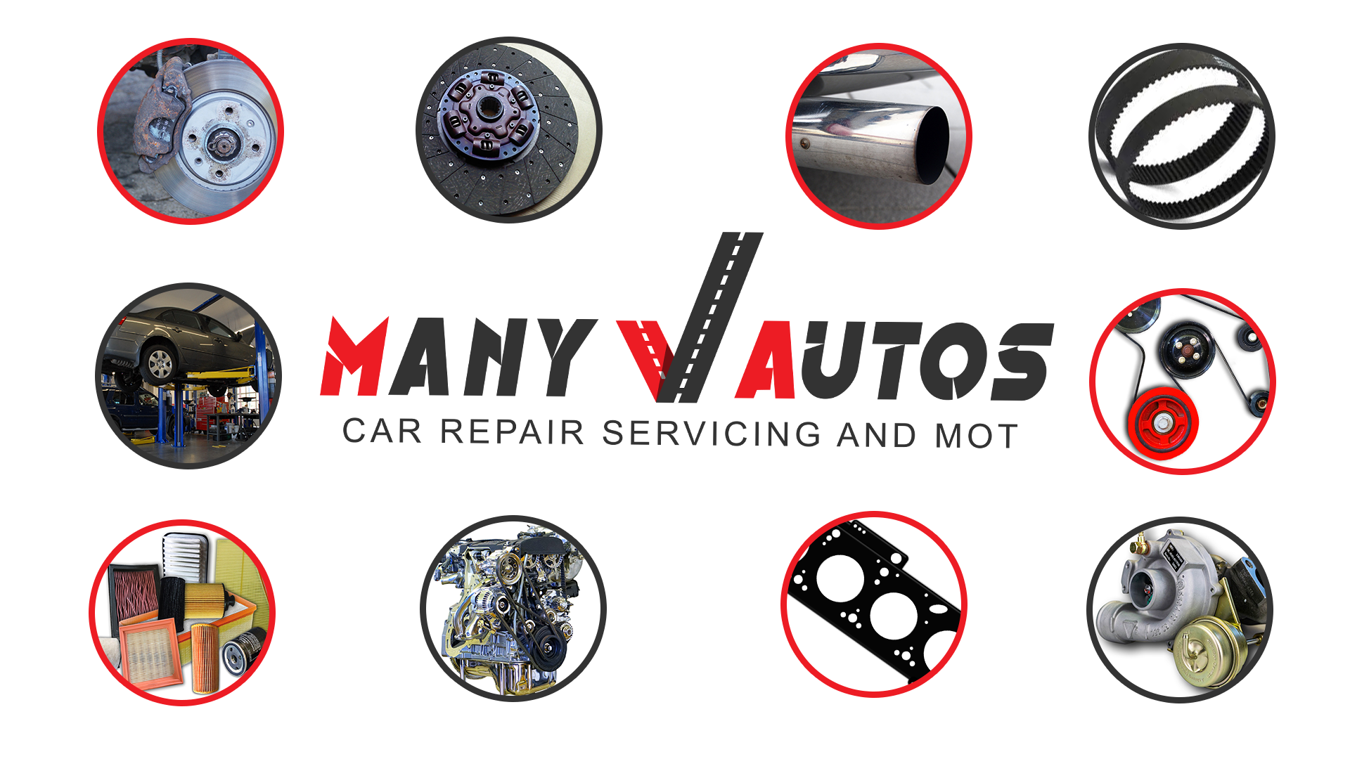 Many Autos offers all types of car servicing, from a