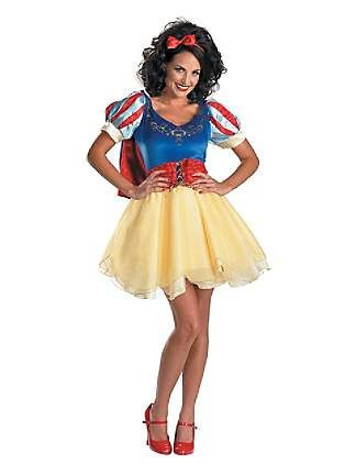 Dress like snow white without costume discounters