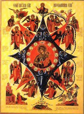 The Unburnt Bush Icon of the Most Holy Theotokos | MYSTAGOGY RESOURCE CENTER