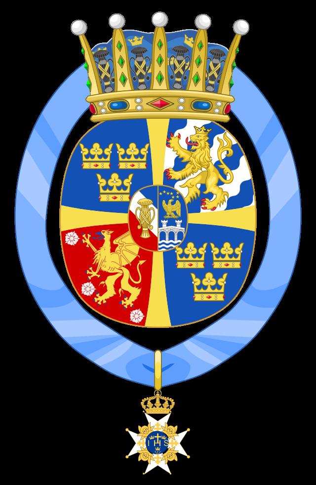 Coat Of Arms Of Princess Estelle Duchess Of Ostergotland Kungligheter Vapen Sverige