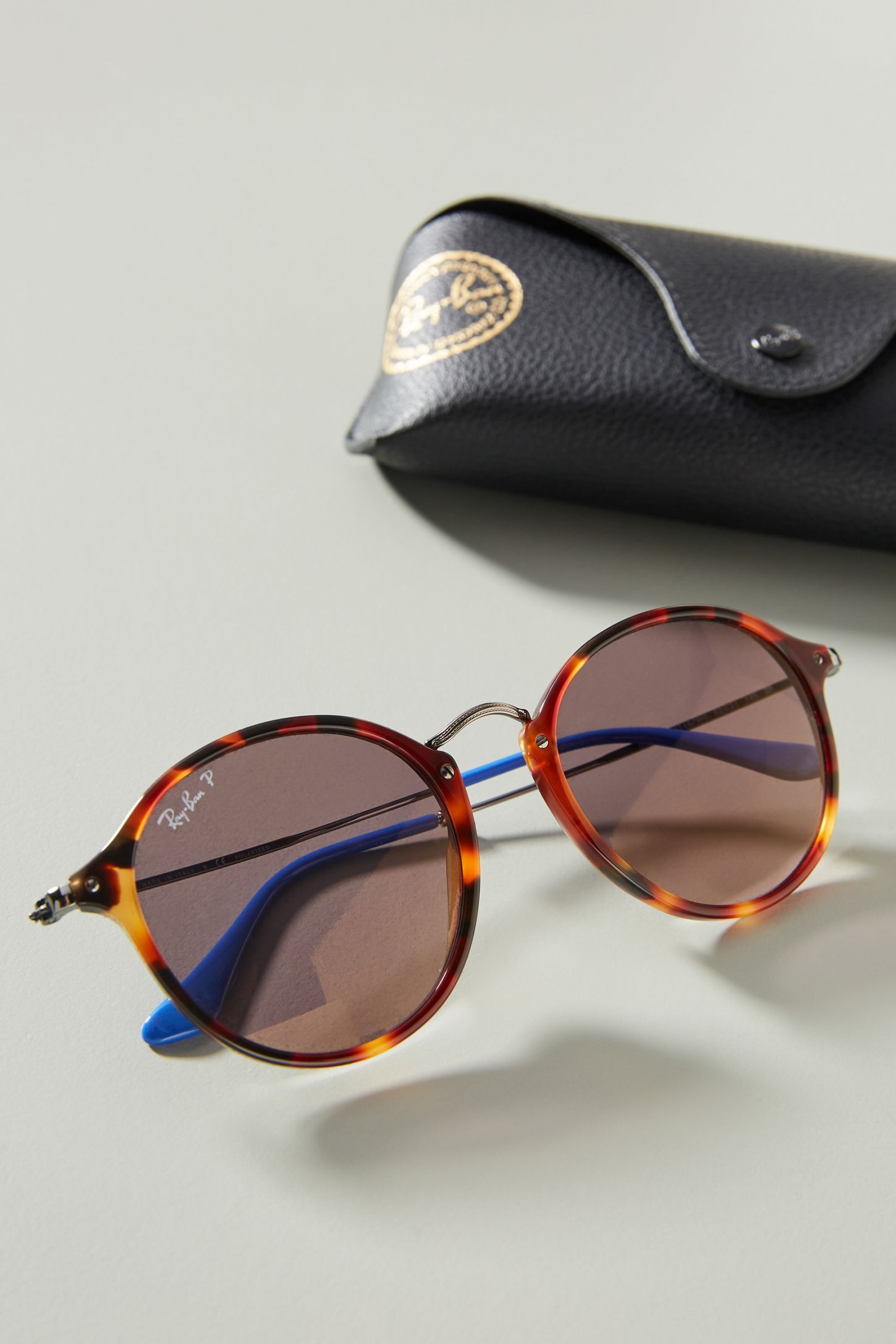 0d4d368c00 Ray-Ban Round Fleck Sunglasses in 2019 | Clothes. Shoes. Accessories ...