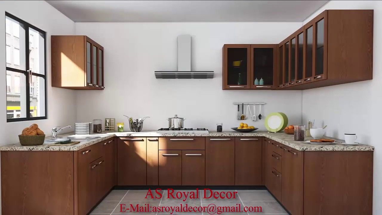 Charming Indian Modular Kitchen Design U Shape
