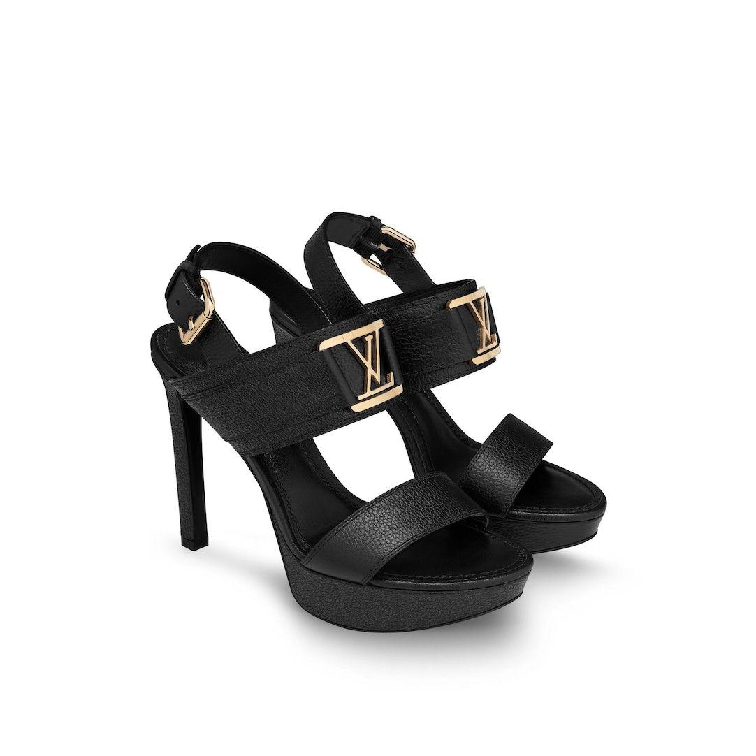 Horizon Platform Sandal In Brown Shoes 1a64y4 Louis Vuitton In 2020 Louis Vuitton Heels Louis Vuitton Platform Sandals